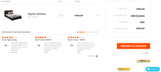 exemple de bigcommerce checkout en botiga